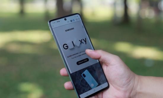 Samsung A71 không lên màn hình