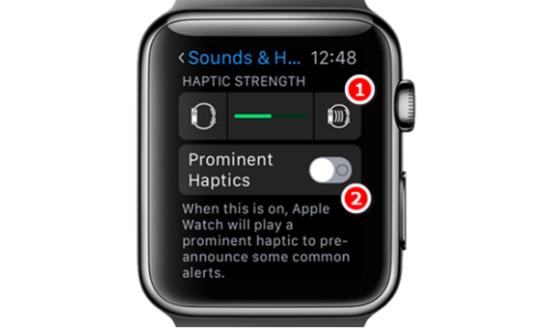 Apple Watch không rung khi có cuộc gọi đến