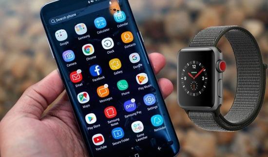 Apple Watch không thể kết nối với smartphone Samsung