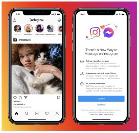 Cập nhật ứng dụng là một giải pháp khi Instagram không dùng được filter