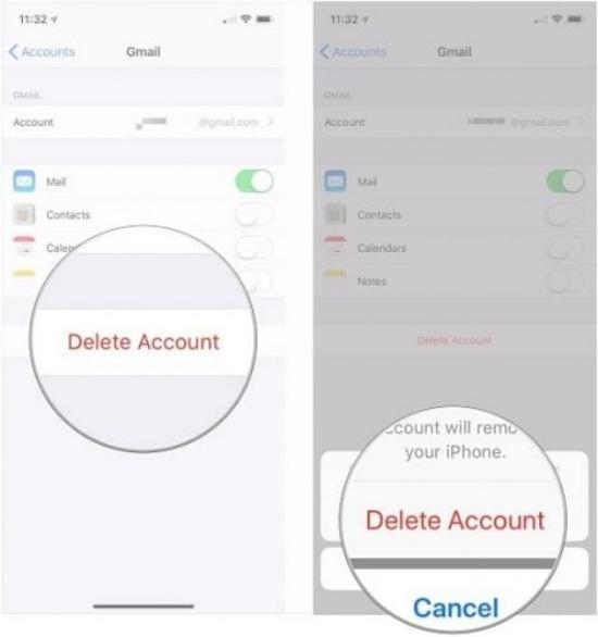 Đăng xuất tài khoản Gmail