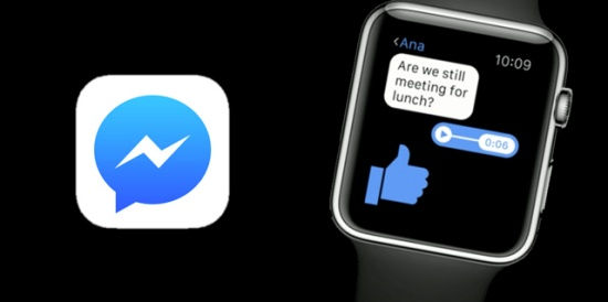 Apple Watch không hiện thông báo Messenger