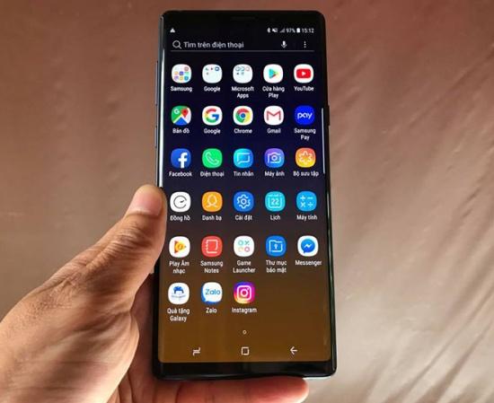 Samsung Note 9 là chiếc smartphone đẳng cấp của nhà Sam