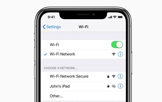 Nếu Wifi iPhone XS bị lỗi, bạn cũng phải đối mặt với nhiều rắc rối