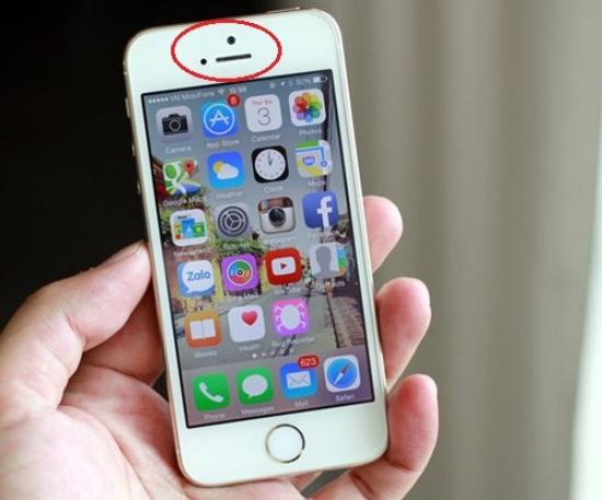 Cảm biến iPhone bị hư hỏng là nguyên nhân chính gây ra lỗi