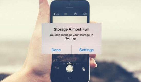 Chụp ảnh trên iPhone bị nhân đôi có thể làm đầy bộ nhớ máy