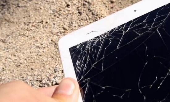Màn hình iPad Mini 4 bị bể