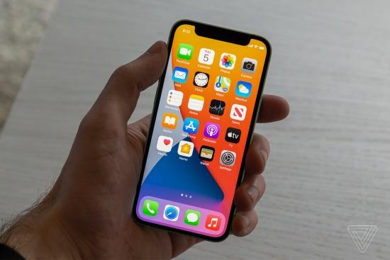 Mặt kính iPhone 12 Pro Max được phủ Ceramic Shield