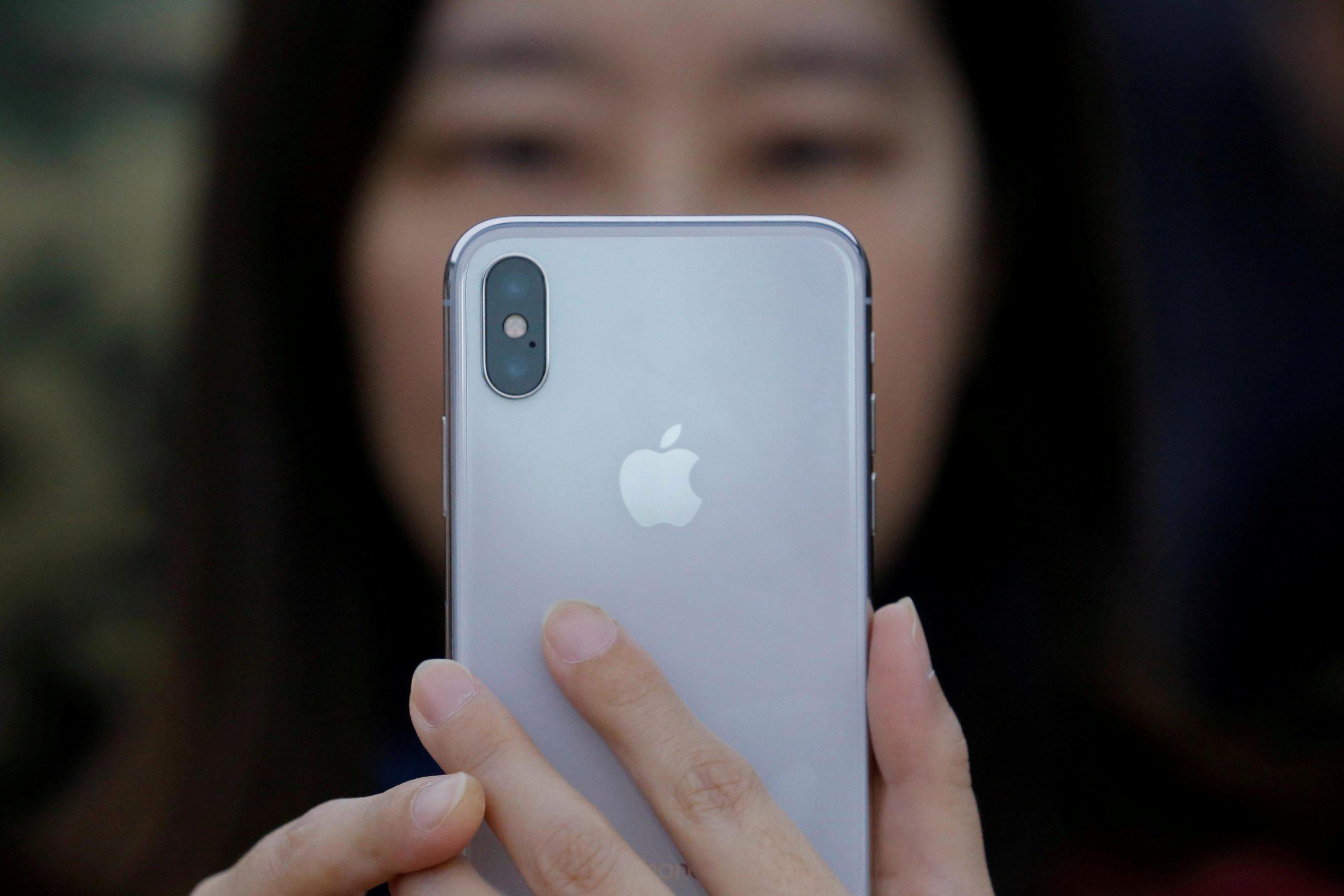 Camera sau iPhone X