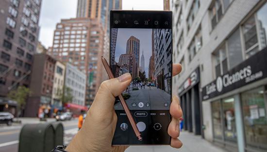 Dấu hiệu nhận biết camera sau Samsung Note 20 Ultra bị hư hỏng
