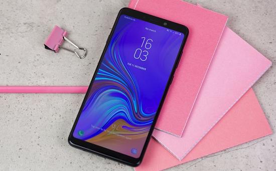 Dấu hiệu chai pin Samsung A9 2018