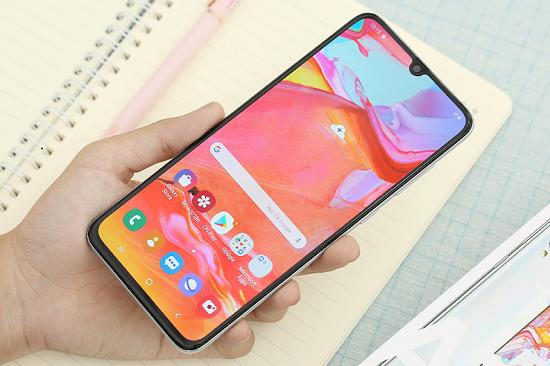 Điện thoại Samsung A70 hiện đang được rất nhiều người yêu thích và sử dụng