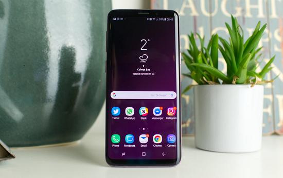 Samsung S9 là điện thoại cao cấp được nhiều người sử dụng