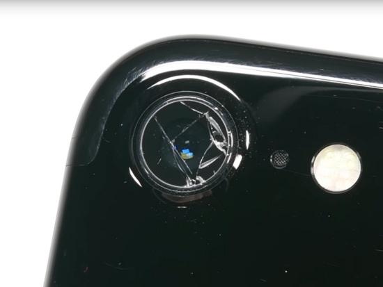 Kính camera iPhone 7 bị bể