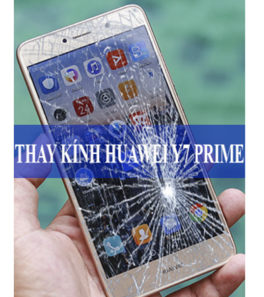 Mặt kính huawei y7 prime bị trầy xước nên thay màn hình hay mặt kính