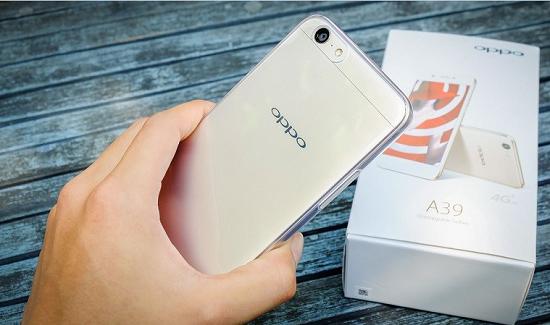 Điện thoại Oppo A39 được nhiều người yêu thích