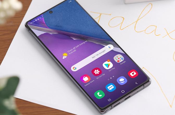 Dấu hiệu thay loa ngoài Samsung Note 20