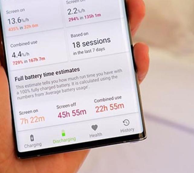 Thay pin Samsung Note 10 chất lượng
