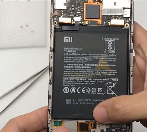 Thay pin Xiaomi Mi 10