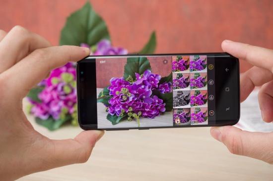 Camera sau Samsung S8 Plus