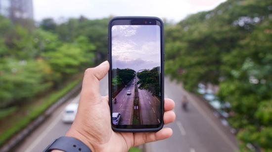 Samsung S8 sở hữu camera sau xuất sắc