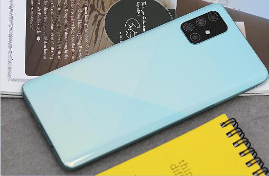Âm thanh loa ngoài Samsung A71 được đánh giá rất cao